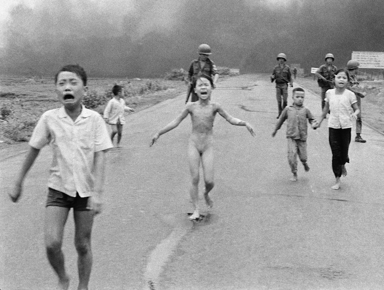 "© Associated Press photographer Nick Ut took a photo of children running from a botched napalm attack on June 8, 1972. ""I thought she was going to die,"" he tells Nate Jones about Kim Phuc, the naked girl in the center of the photo."