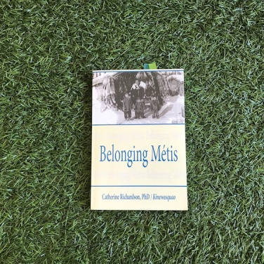 """Belonging Métis"" by Catherine Richardson/Kinewesquao"